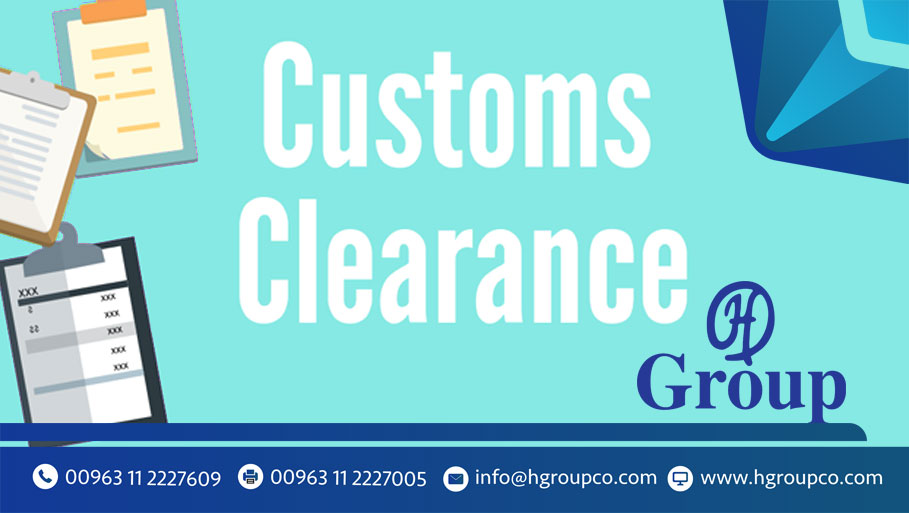 "What does ""customs clearance"" mean? Why do you need him?"